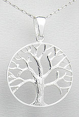 28mm tree of life pendant sterling silver tree of life pendant tree of life pendant sterling silver tree of life pendant 28mm larger image aloadofball Gallery